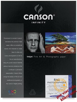 Canson, Rag Photographique DUO, 220g/m2