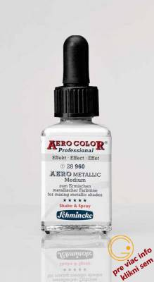 Schmincke, Aero Metallic Medium 28 ml - novinka